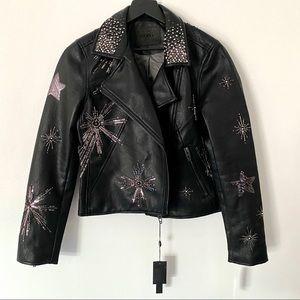 NWT Blanknyc Gemstone Faux Leather Jacket